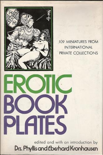 Erotic bookplates by Drs. Phyllis and Eberhard Kronhausen, Eberhard Kronhausen