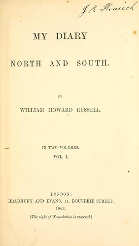 My diary North and South.