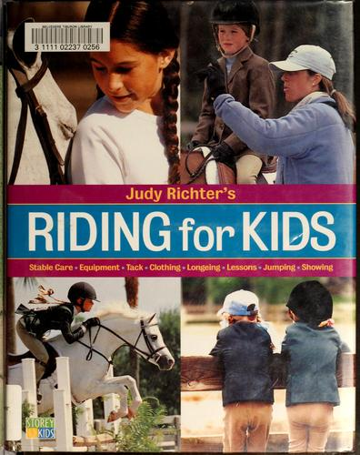 Judy Richter's Riding for kids.