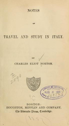 Download Notes of travel and study in Italy.