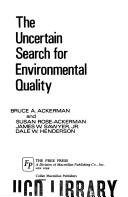 Uncertain Search for Environmental Quality, The.