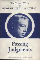 Passing judgments.
