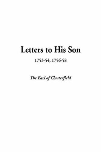 Download Letters To His Son, 1753-54, 1756-58