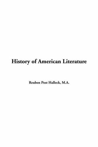 Download History of American Literature