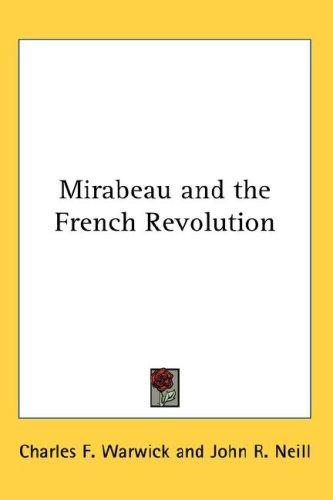 Download Mirabeau and the French Revolution