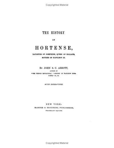 The History Of Hortense