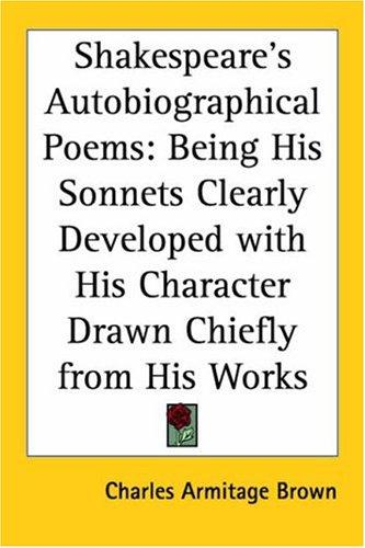 Download Shakespeare's Autobiographical Poems