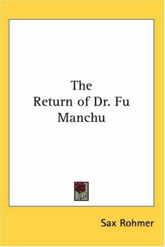 Download The Return of Dr. Fu Manchu