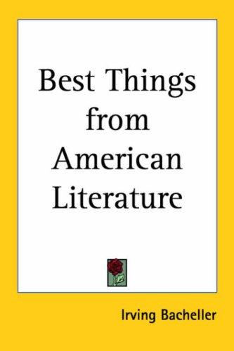 Download Best Things from American Literature
