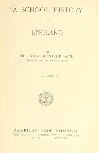 Download A school history of England