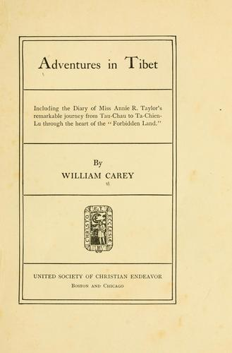 Download Adventures in Tibet