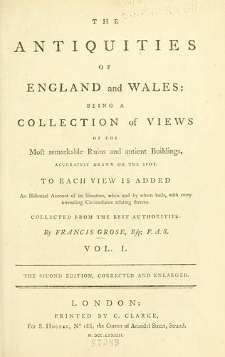 Download The antiquities of England and Wales.