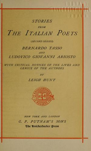 Download Stories from the Italian poets