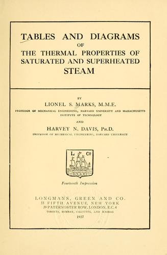 Download Tables and diagrams of the thermal properties of saturated and superheated steam