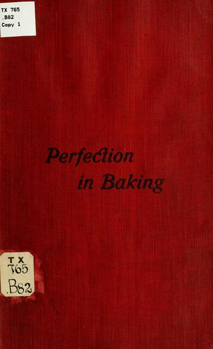 Download Perfection in baking