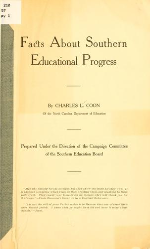 Download Facts about southern educational progress