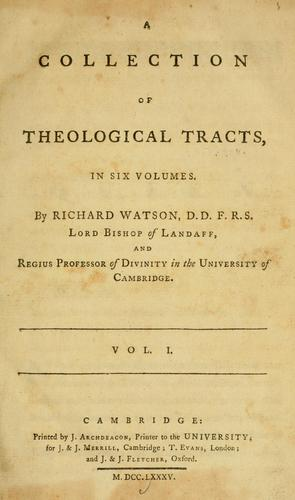 A collection of theological tracts