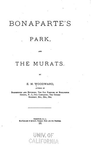 Download Bonaparte's Park and the Murats