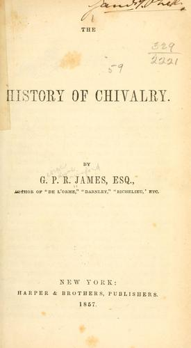 The history of chivalry.