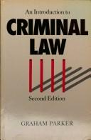 Download An introduction to criminal law