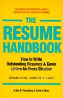 Download The resume handbook