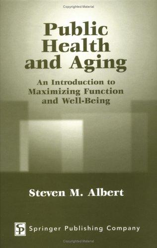 Download Public health and aging