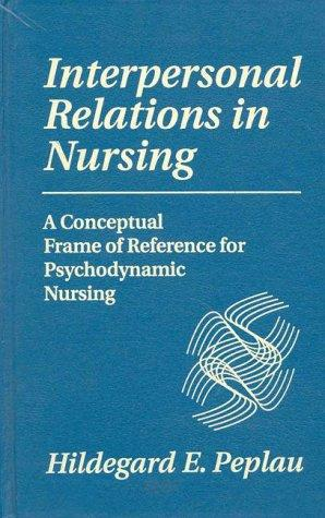 Download Interpersonal relations in nursing