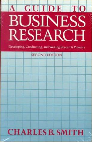 A guide to business research