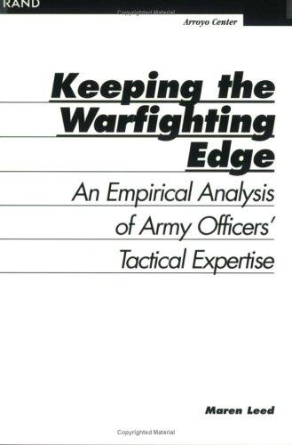Download Keeping The Warfighting Edge