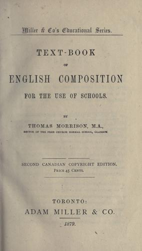 Download Text-book of English composition for the use of schools