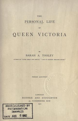 Download The personal life of Queen Victoria