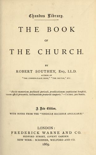 The book of the church.