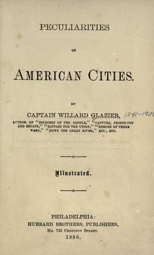 Download Peculiarities of American cities.