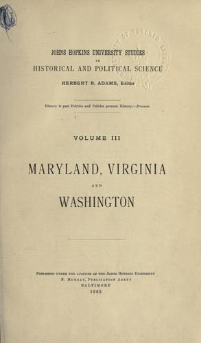 Maryland's influence upon land cessions to the United States.