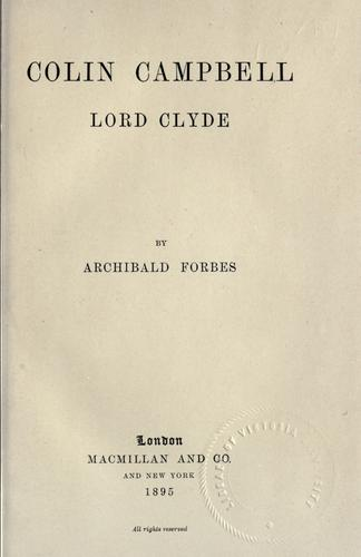 Download Colin Campbell, Lord Clyde.