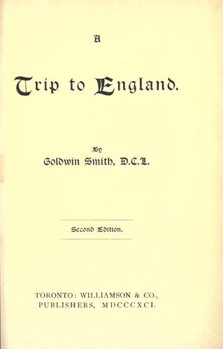 Download A trip to England