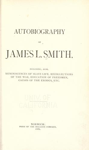 Download Autobiography of James L. Smith