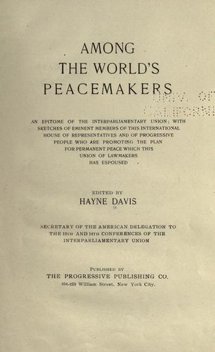 Download Among the world's peacemakers