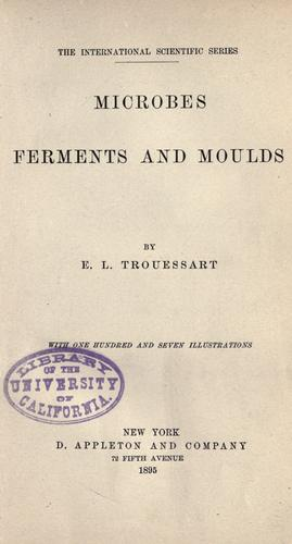 Download Microbes, ferments and moulds