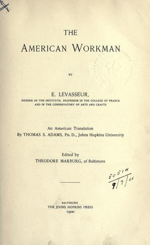 Download The American workman