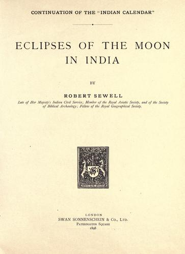 Download Eclipses of the moon in India