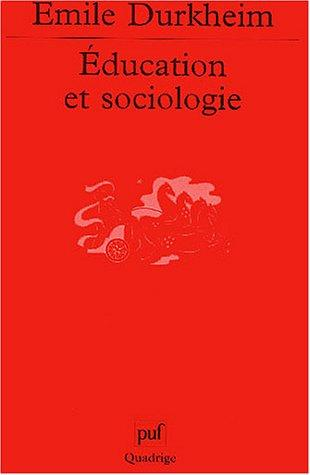 Education et sociologie by Émile Durkheim