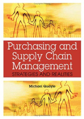 Download Purchasing and Supply Chain Management
