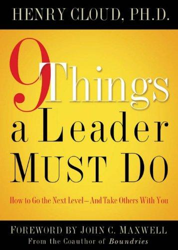 Download 9 Things a Leader Must Do
