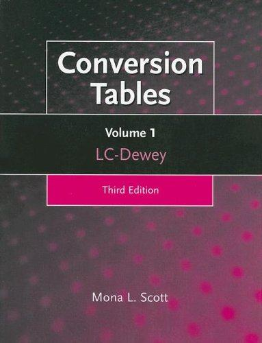 Download Conversion Tables, 3rd Edition