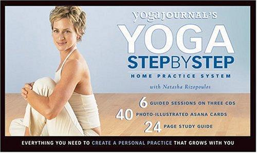 Yoga Journal's Step-by-Step Home Practice System [CD] Audiobook, Rizopoulos, Natasha