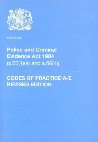 Download Police and Criminal Evidence Act 1984 (Codes of Practice)