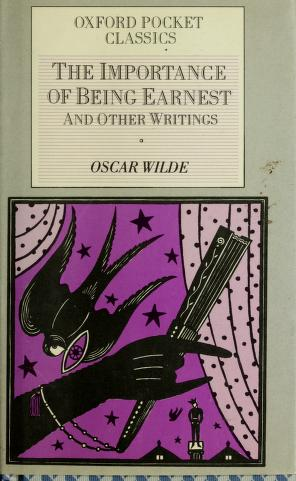 Cover of: Importance Of Being Ernest (Oxford Pocket Classics) | RH Value Publishing