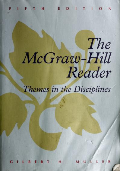 The McGraw-Hill Reader by Gilbert H. Muller