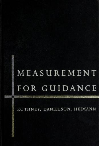 Cover of: Measurement for guidance | John Watson Murray Rothney
